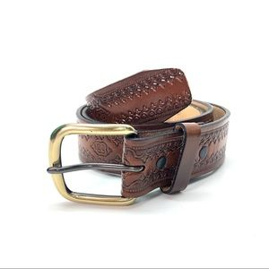Accessories - Genuine Leather Western-Style Belt